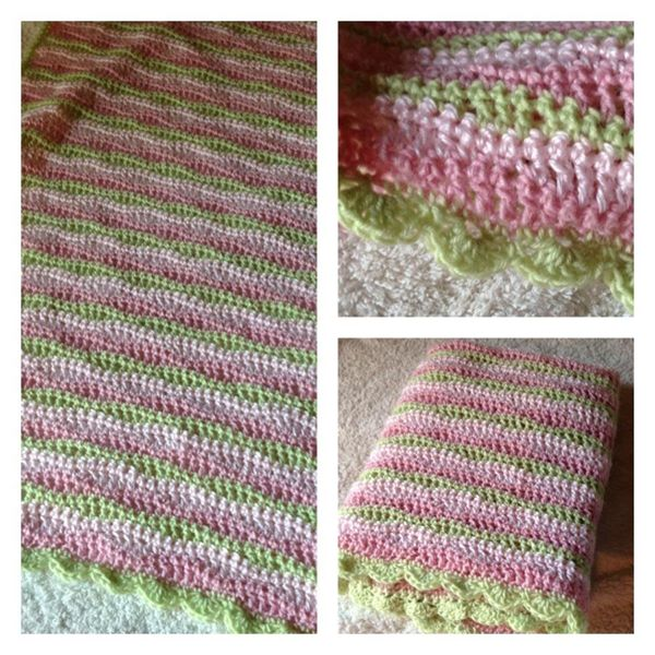 Baby afghan for Ava (2012)