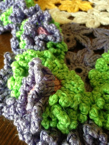 Baby afghan for Irelyn (2013)