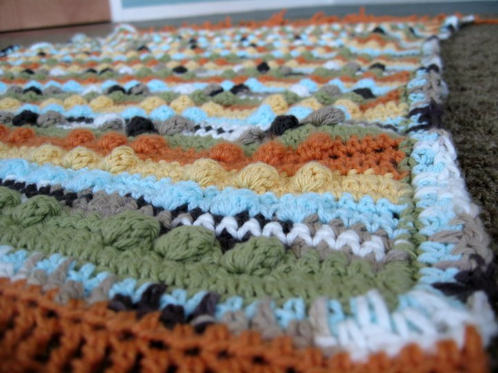 Baby afghan for ElCo (2010)