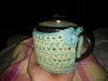 Coffee mug cozy for me (2012)