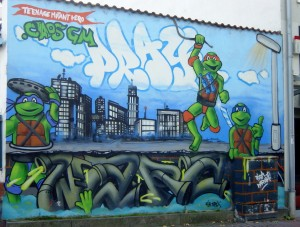 Teenage Mutant Ninja Turtles graffiti (Giessen)