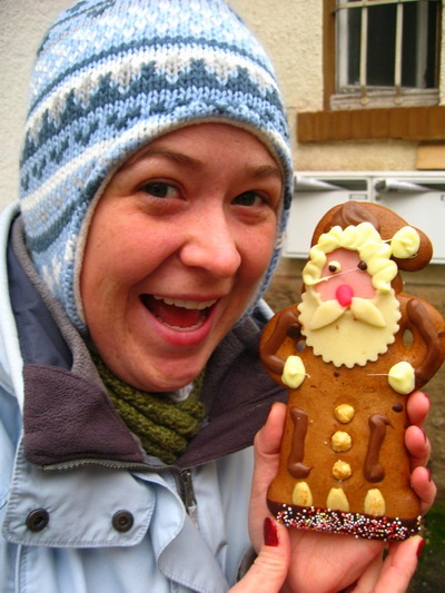 Linden and the Lebkuchen Nikolaus